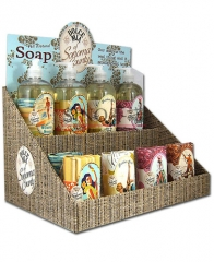Soap dispenser Soap cardboard counter top display