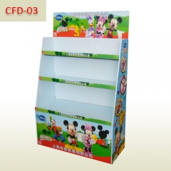 Disney toys promotional cardboard display stand