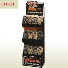 POP Plush toys promotion cardboard display stand