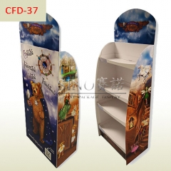 Halloween party gift retail Cardboard 5 tiers stand