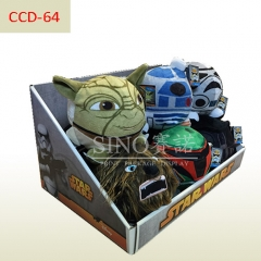 Star wars toys cardboard counter top display