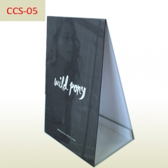 Shampoo advertising A3 size board cardboard counter standee