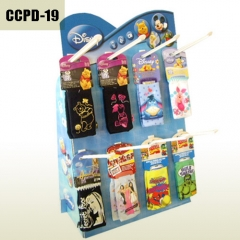 Cardboard Counter peg hook display box for cell phone case